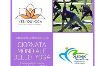 21 Giugno 2019 – International Yoga Day